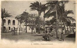 SENEGAL   GOREE PLACE PRINCIPALE   FORTIER DAKAR - Senegal
