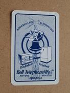 BELL TELEPHONE Mfg. C° Anvers Bruxelles Leopoldville ( JOKER ) - ( Details - Zie Foto´s Voor En Achter ) !! - Cartes à Jouer Classiques