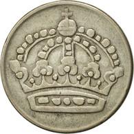 Suède, Gustaf VI, 50 Öre, 1953, TTB+, Argent, KM:825 - Suède