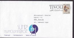 Denmark SUHR's Husholdningsskole Slogan Flamme 'Tivoli' KØBENHAVN 1989 Cover Brief - Briefe U. Dokumente