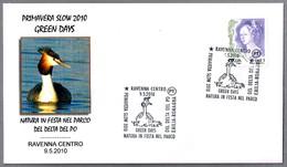 SOMORMUJO - Podiceps Cristatus. Ravenna 2010 - Mechanical Postmarks (Advertisement)