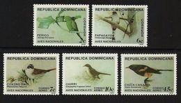 DOMINICAN REPUBLIC 1979 BIRDS CONURE TROGON TANAGER ORIOLE SET MNH - Dominican Republic