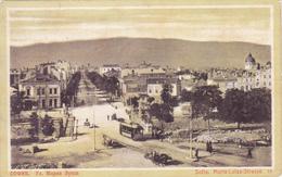 BULGARIA - SOFIA, MARIA LUISA STRASSE 1912 - Bulgarie
