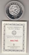 Moneta Da 500 Dracme Arg. 9.25 Fondo Specchio Anno 1992 - Grecia