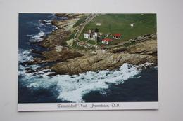 JAMESTOWN, BEAVERTAIL POINT LIGHTHOUSE  - Phare - Modern Postcard - Faros
