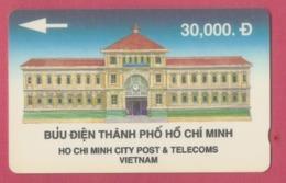 TELECARTE VIET NAM--30.000 -HO CHI MINH CITY POST & TELECOMS - Viêt-Nam