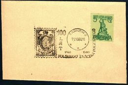 Poland 1960 Cancellation - 100 Years Of Polish Stamp 1860-1960 - Tarnow 2 - 1944-.... République