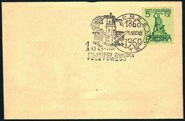 Poland 1960 Cancellation - 100 Years Of Polish Stamp 1860-1960 - Przemysl - 1944-.... Republic