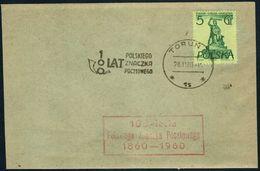 Poland 1960 Cancellation - 100 Years Of Polish Stamp 1860-1960 - Torun - 1944-.... Republic