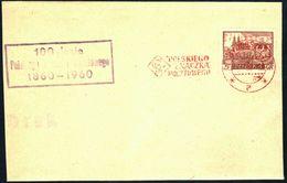 Poland 1960 Cancellation - 100 Years Of Polish Stamp 1860-1960 - Bydgoszcz 2 - 1944-.... Republic