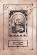 Andachtsbild - Image Pieuse - S. Dominicus S. Dominique - 6*9cm (29445) - Images Religieuses