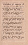 Andachtsbild - Image Pieuse - Dein Heiland Sieht Herab Auf Dich - 7*11cm (29446) - Andachtsbilder