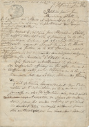 374/25 - Document Sur Papier Fiscal An 10 - Pétition Au Maire De LIERRE Vertommen - TB Cachet De La Mairie De LIERRE - 1794-1814 (Période Française)