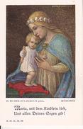 Andachtsbild - Image Pieuse - Maria, Mit Dem Kindlein Lieb...- 6*10cm (29448) - Andachtsbilder