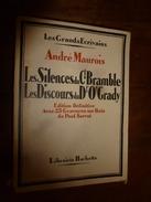 1922  Les Silences Du Cl Bramble--Les Discours Du Dr O' Grady, Par André Maurois - Livres, BD, Revues
