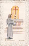Andachtsbild - Image Pieuse - Communion - Zaessingue - 1964 - 6*10cm (29449) - Images Religieuses