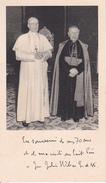 Andachtsbild - Jean-Julien Weber Und Papst Pius XII. - 6*10cm (29450) - Andachtsbilder