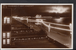 Suffolk Postcard - Promenade At Night, Lowestoft  DC437 - Lowestoft