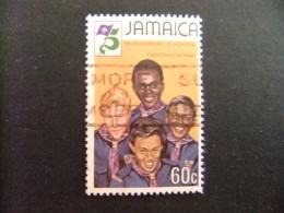 JAMAICA 1982 SCOUTS De Diferentes RAZAS  Yvert 549 FU - Jamaica (1962-...)