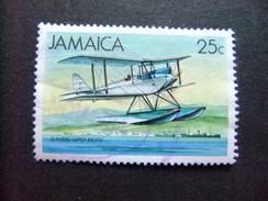 JAMAICA 1984 Hidroavion Yvert 594 FU - Jamaica (1962-...)
