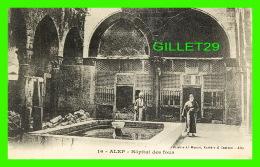 ALEP, SYRIE - HÔPITAL DES FOUS - ANIMÉE - LIBRARIE AL-MAAREF, KNEIDER & CASTOUN - DOS VERT - - Syrie
