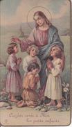 Andachtsbild - Image Pieuse - Laissez Venir à Moi... - Première Communion - Durmenach - 1935 - 6*11cm (29451) - Andachtsbilder
