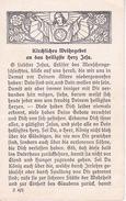 Andachtsbild - Image Pieuse - Kirchliches Weihegebet Herz Jesu - Steyl - 1929 - 7*11cm (29452) - Andachtsbilder