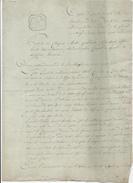 380/25 - Document Sur Papier Fiscal - An 9 - Procès Verbal Et Cachet Mairie De La Ville De MALINES - Signé Gambier - 1794-1814 (Période Française)