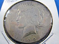 [D*] 1922S  PEACE DOLLAR               (dp$6) - Emissioni Federali