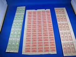 CHINA CIGARETTE TAX STAMPS - LOT OF 80 UNUSED - Unclassified
