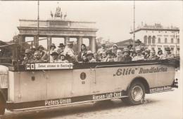 Elite Rundfahrten - Orig.Fotokarte - Automobile