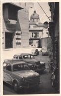 Alte Autos, Fotokarte Unbekannte Stadtaufnahme, Format 13,4 X 8,5 Cm - Automobili