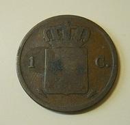 Netherlands 1 Cent 1837 - [ 3] 1815-… : Kingdom Of The Netherlands