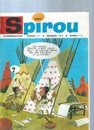 SPIROU  N° 1497  -  Déssin: ?  -  1966  ( Avec Le Mini Récit : CABANON LA DIT AVEC DES FLEURS ) - Spirou Magazine