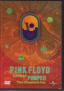 DVD - PINK FLOYD - LIVE AT POMPEII - DVD Musicaux