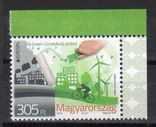 Hungary 2016 Europa 2016 Think Green  MNH - Europa-CEPT