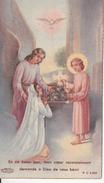 Andachtsbild - Image Pieuse - En Ce Beau Jour - Communion Sollenelle - Tigsdorf - 1950 - 5*10cm (29456) - Andachtsbilder