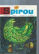 SPIROU  N° 1510  -  Déssin: DEGOTTE  -  1967 - Spirou Magazine