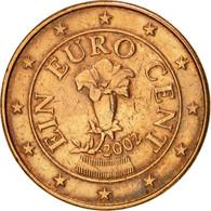 Autriche, Euro Cent, 2002, TTB, Copper Plated Steel, KM:3082 - Autriche