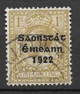 1922 USED Ireland  Gestempeld - 1922 Provisorische Regierung