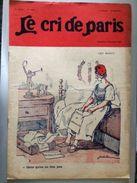 Le Cri De Paris Les Morts Traite De Versailles Pub Zig Zag Novembre 1922 - Journaux - Quotidiens