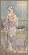 Andachtsbild - Image Pieuse - Maria Mit Kind - 6*3cm (29459) - Andachtsbilder