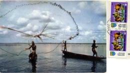 REPUBLIQUE TOGOLAISE  TOGO  Net Fishing  Nice Stamps - Togo