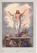 Andachtsbild - Image Pieuse - Jesus Auferstehung - 5*7cm (29461) - Andachtsbilder