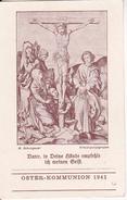 Andachtsbild - Image Pieuse - Vater, In Deine Hände... - Oster-Kommunion 1941 - 7*11cm (29466) - Andachtsbilder