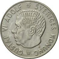 Suède, Gustaf VI, Krona, 1972, SUP+, Copper-Nickel Clad Copper, KM:826a - Suède