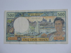 500 Francs  1992- Institut D´émission D´Outre-mer   **** EN ACHAT IMMEDIAT **** - French Pacific Territories (1992-...)
