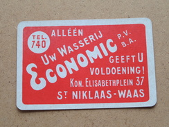 Alléén Uw Wasserij ECONOMIC Geeft U Voldoening St. Niklaas-Waas ( JOKER ) - ( Details - Zie Foto´s Voor En Achter ) !! - Speelkaarten