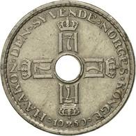 Norvège, Haakon VII, Krone, 1950, TTB+, Copper-nickel, KM:385 - Norvège