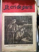 Le Cri De Paris En Allemagne La Revolution Pub Bijoux Maxima Le Soir Novembre 1918 - Journaux - Quotidiens